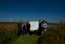 Brighton Wetland announcement, Brighton, ON (Photo by NCC)